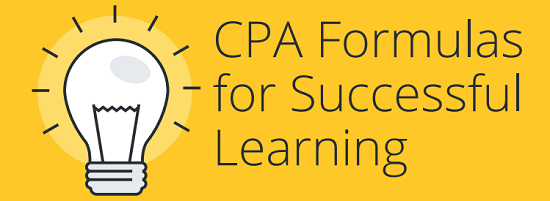 CPA Formulas for Successful Learning