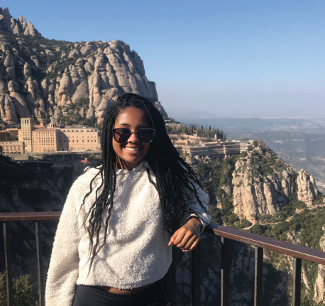 Nailah Owens Johnson in Montserrat