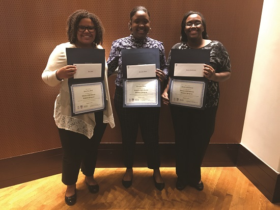2017-18 INCPAS Scholars receive program completion certificate and academic gift