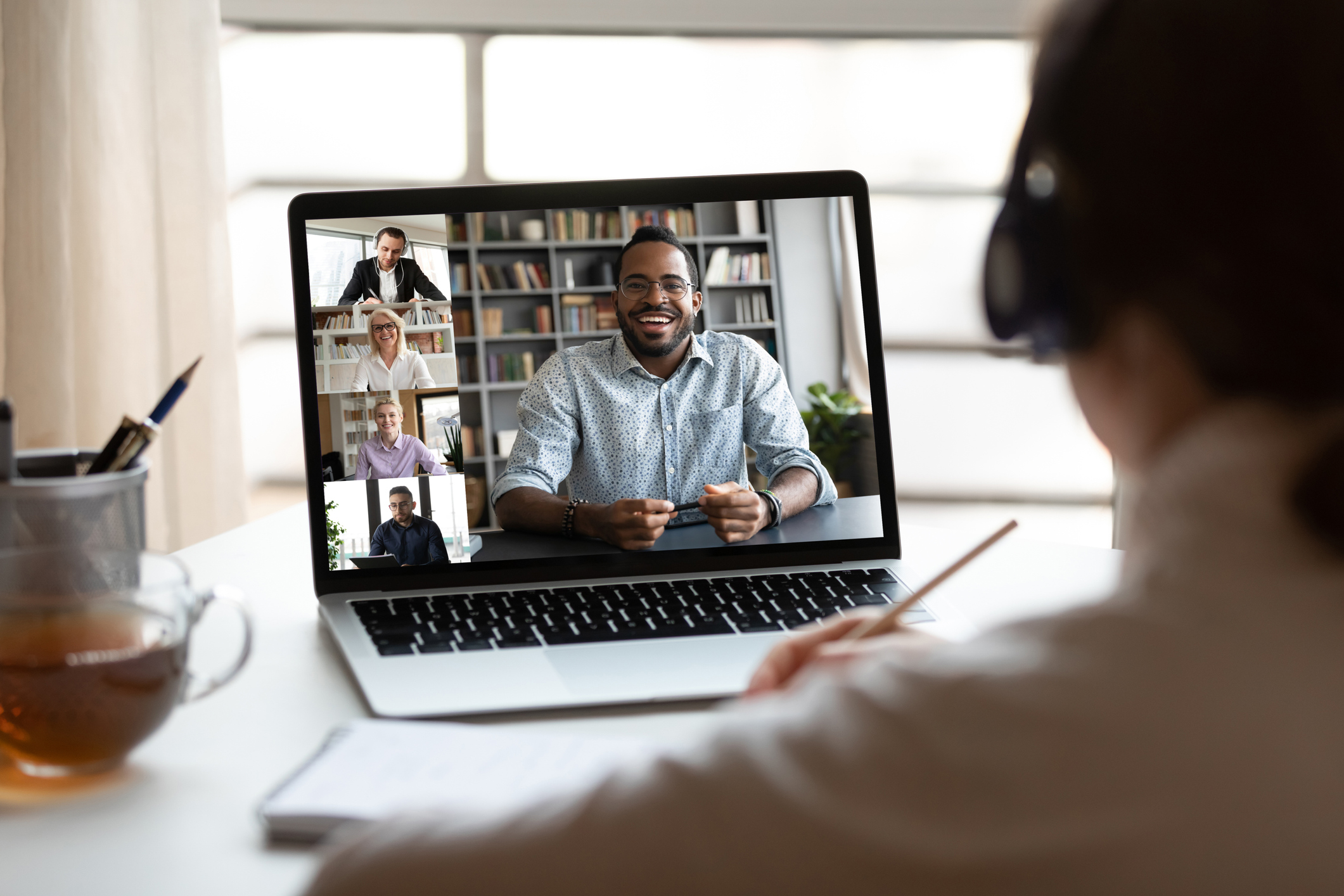 Video Conference Call Image